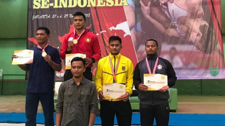 Gulat se indonesia Ridhani 2018